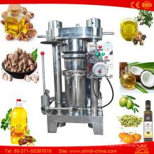 Máquina del aceite de coco prensado en frío del cacahuete del almendra del sésamo
