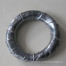 Cable de hierro recocido negro de 1.6 mm