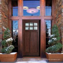 Portas exteriores da madeira maciça do artesão quente da venda