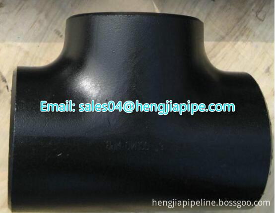 Cabon steel pipe tee