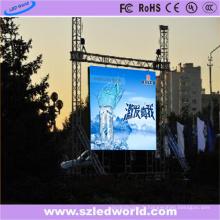 Panneau polychrome de location de location d'intérieur de P6.25 LED pour la publicité