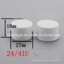 Capa de parafuso plástico 24/410 PP