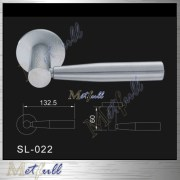 Durable Hardware Indoor Solid Lever Handles