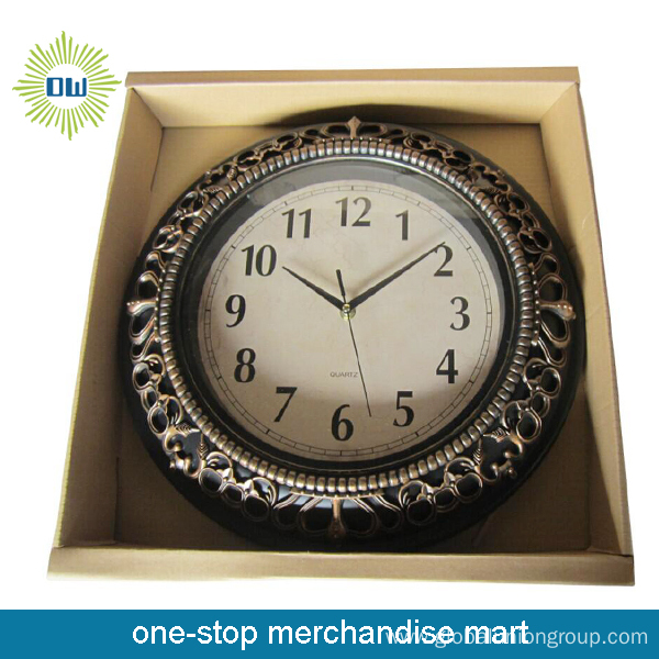 Metal Wall Clock in Different Shape