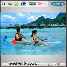 Kayak transparente de la alta calidad de Seaters doble / del solo para la venta
