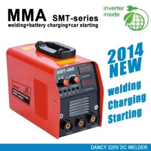 Multifunctional welder battery chargers and car starter 3 in 1 machine SMT 480