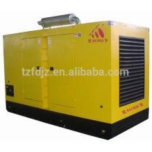 350квт водонепроницаемый тихая генератор работает на скании