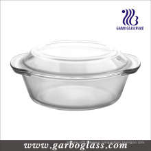 High Borosilicate Heat Resistant Pyrex Glass Cooking Pot (GB13G13240)