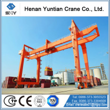 CE/ISO Standard Steel Structure 20Ton Rmg Container Handling Gantry Crane