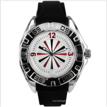 Quartz Fashion Sport Silicon Watch as Gift