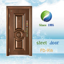 China Newest Develop and Design Single Steel Security Door (FD-916)
