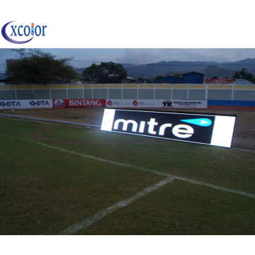 Panel de fútbol perimetral exterior impermeable LED Panel P10
