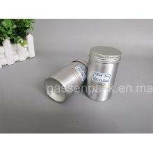 150ml Aluminium Lebensmittel Verpackung Dose mit Schraubdeckel (PPC-AC-050)