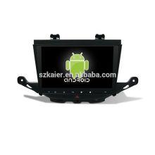 Quatro núcleos! Android 6.0 carro dvd para BUICK ASTRA K com 9 polegadas tela capacitiva / GPS / Link Mirror / DVR / TPMS / OBD2 / WIFI / 4G