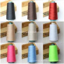 China Lieferant gefärbte Melange Polyester Spun Yarn