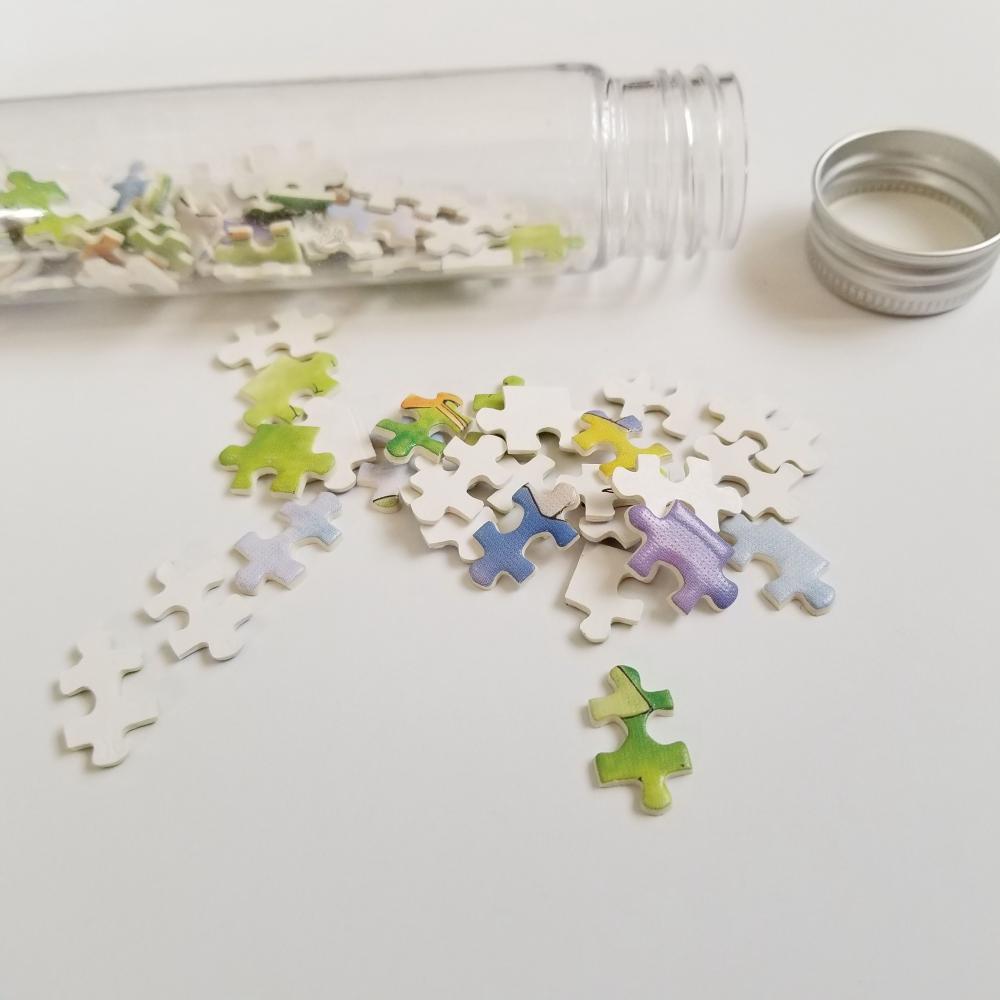 Plastic Tube Puzzle