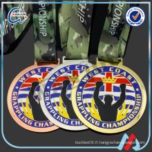 CHAMPIONNAT DE GRAPHISITION médailles de sport personnalisées