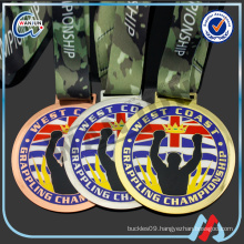 GRAPPLING CHAMPIONSHIP custom sports medals