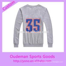 Hoodies feitos sob encomenda do o-pescoço dos esportes de basquetebol do preço de fábrica