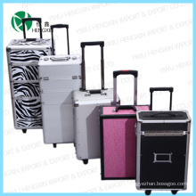 New Professional Trolley Cosmetic Case (HX-PT001)
