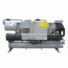 Water-cooled water chiller, adopts the latest asymmetric rotor profile