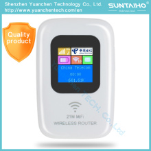 Mini Mobile Modem 4G Router for Straight Inserted SIM Card 4G WiFi Router