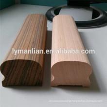 natural walnut handrailings