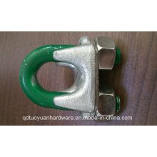 Galvanized Us Type Malleable Marine Hardware/Wire Rope Clamp