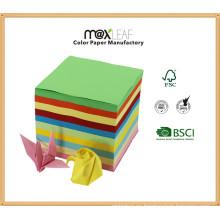 16 * 16cm Multi Colores Mixed Handwork Paper