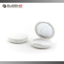 Empty plastic cosmetic packaging compact powder case