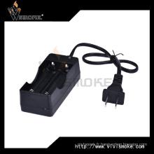 18650 Batterie au lithium-ion Chargeur à double fente