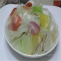 Craquelin aux crevettes colorées / sauce aux crevettes et aux crevettes