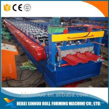 xn 720 deck da telha de piso rolo dá forma à máquina / máquina de decks piso de aço / piso deck máquina de laminação a frio