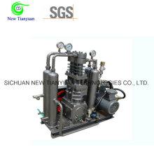 Compresor de hidrógeno de gas H2 ampliamente utilizado en las industrias generadoras de hidrógeno, etc.