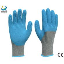 Latex 3/4 gants de travail en mousse