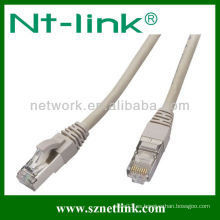 Gris rj-45 cat5e cable de remiendo utp