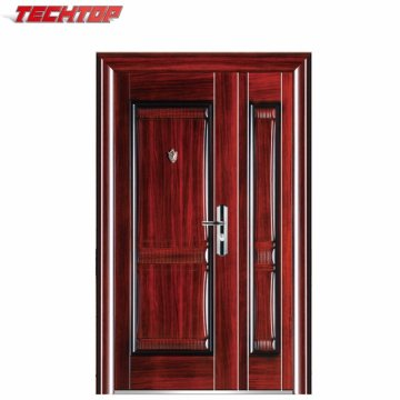 TPS-143 Mom und Son Stahl Tür Design mit vernünftigen Preis