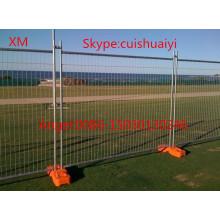 Clôture amovible amovible de la vente chaude 1.2mx2.2m pour le marché de l'Australie (norme d'AS 4687-2007)