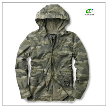 2015 lightweight spring mens military parka with hood