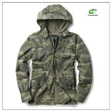 2015 легкая весна мужская военная куртка с капюшоном