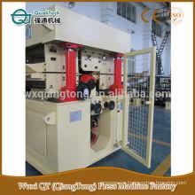 Máquina de lijado HPL / máquina de lijado de cabeza doble de cinta ancha / lijadora de madera