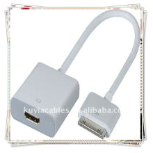 30P to HDMI with Audio for iPad 2 iPod iTouch iPhone 4G