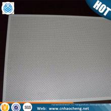 Изготовленная на заказ нержавеющая сталь алюминий циркония перфорированный металлический лист плиты