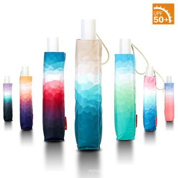 Topumbrella brand 2018 Ultra light Gradient printed umbrellas