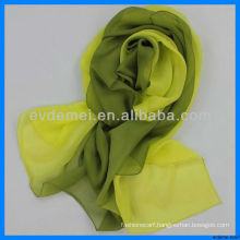 Factory gradient silk scarf wholesale china
