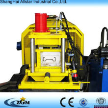 Sigma post roll forming machine, crib guard rail