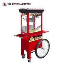 Máquina industrial de fabricação de pipoca com preservação do calor com peças completas