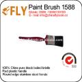 Cepillo de pintura plástico de la cerda de la manija del fabricante del cepillo