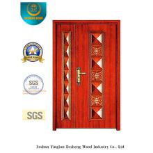 Puerta estilo imagen clásica con dos puertas para exterior (b-6013)