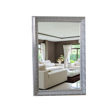 wall mounted bathroom makeup mirror with PS frame